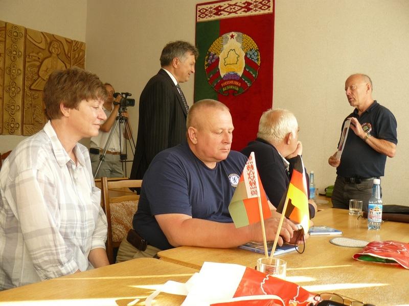 Резервисты Бундесвера ФРГ посетили Беларусь