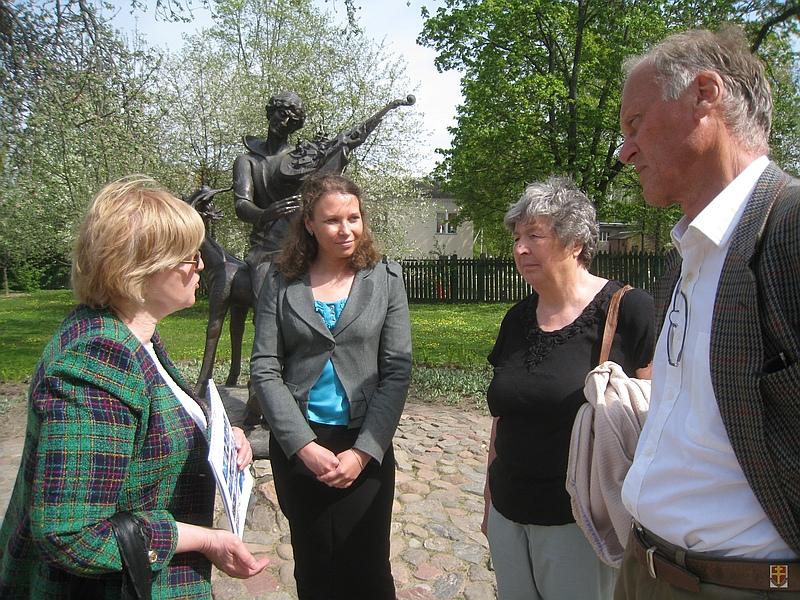 Активисты «Нэшнл Траст» и ОО «ВХД»Вера и честь» посетили дом-музей М.Шагала