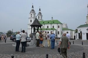 В историческом центре столицы